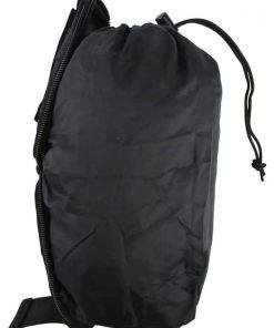 kombat uk covert molle dump pouch - black 2
