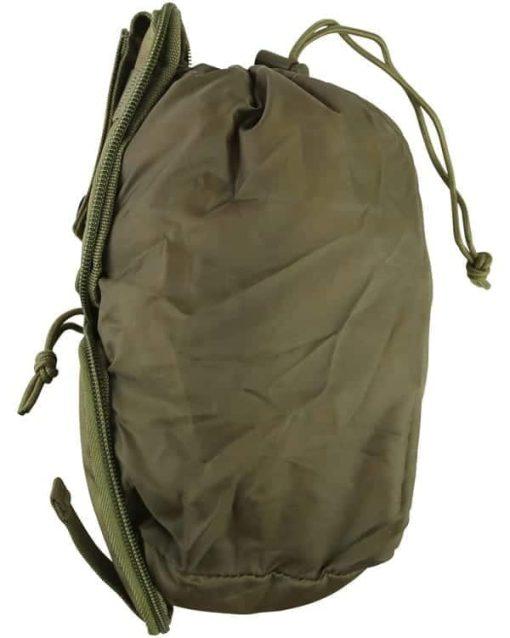 kombat uk covert molle dump pouch - tan 2