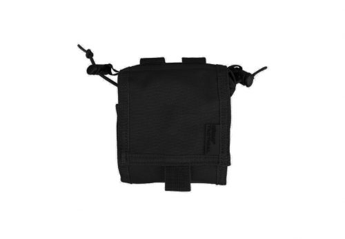 kombat uk folding dump pouch - black