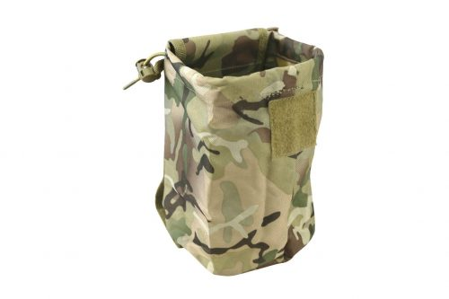 kombat uk folding dump pouch - btp open