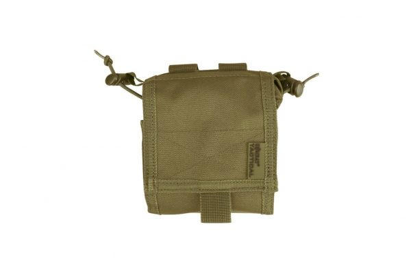 kombat uk folding dump pouch - tan