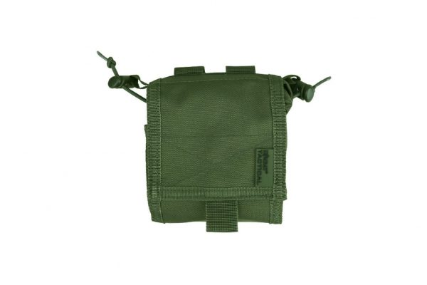 kombat uk folding dump pouch - olive