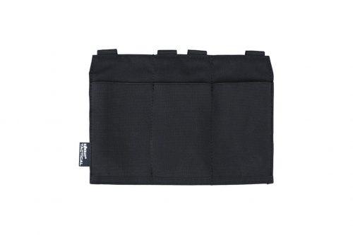kombat uk guardian M4 triple magazine pouch - black