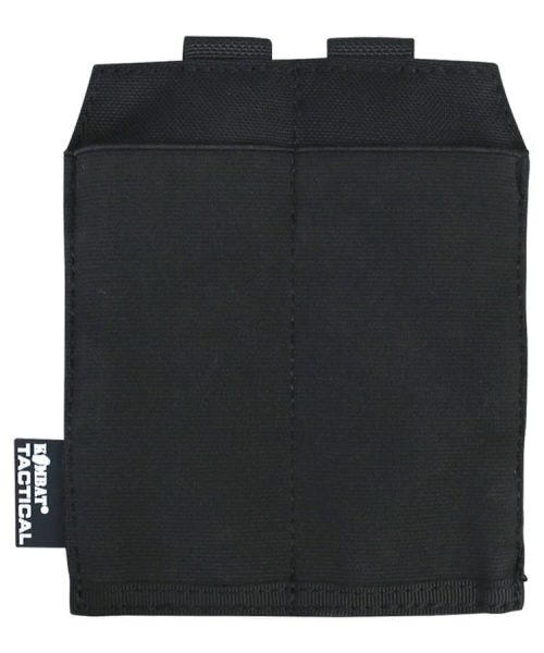 kombat uk guardian double pistol magazine pouch - black