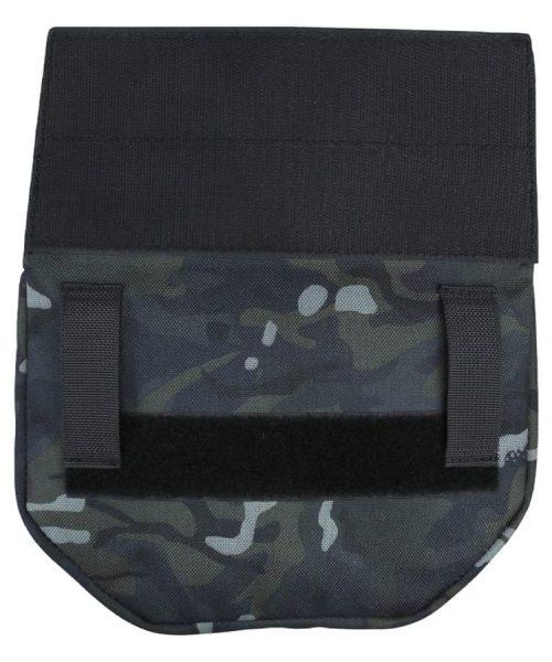 kombat uk guardian waist bag - btp black rear