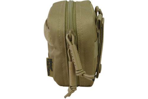 kombat uk mini utility pouch - tan side