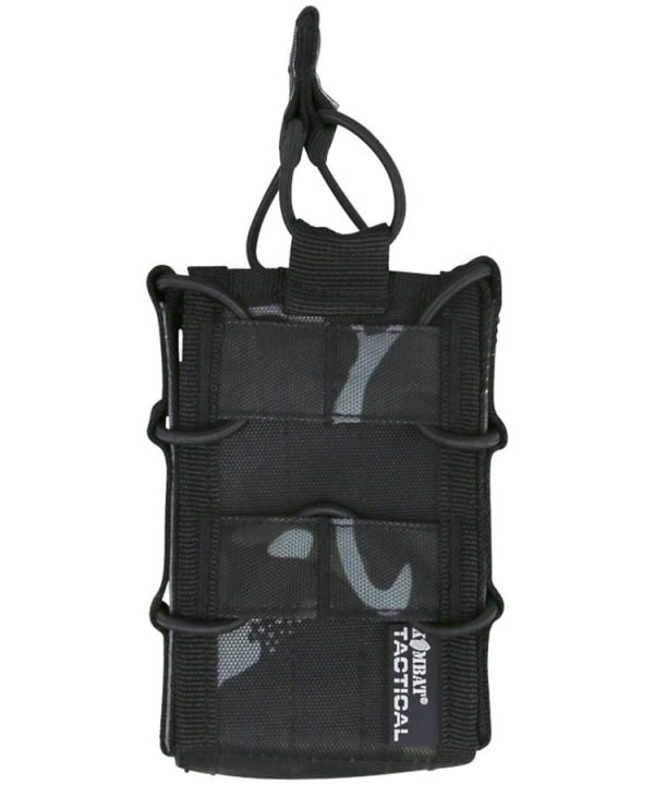 kombat uk delta multi-calibre magazine pouch - btp black