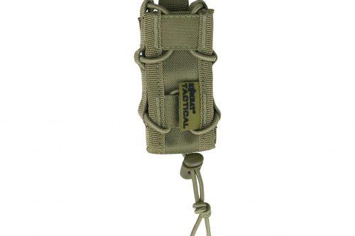 kombat uk delta multi-calibre pistol magazine pouch - tan