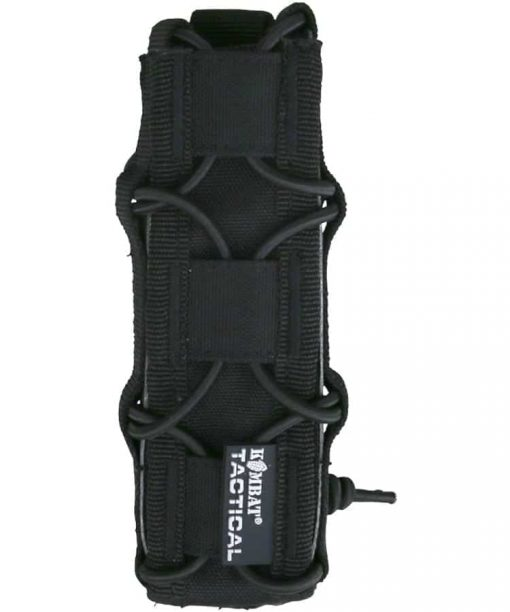 kombat uk spec-ops extended pistol magazine pouch - black
