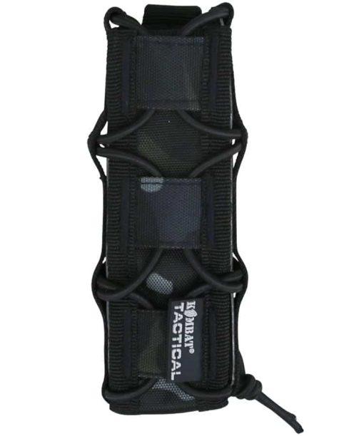 kombat uk spec-ops extended pistol magazine pouch - btp black
