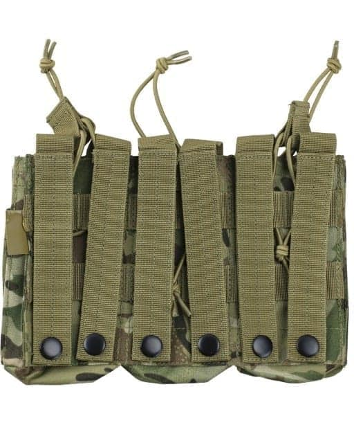 kombat uk triple duo M4 magazine pouch - btp rear