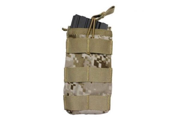 oper8 single bungee m4 magazine pouch - aor1 front