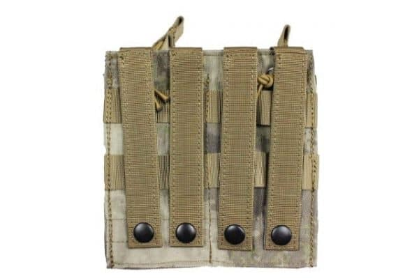 oper8 tactical double bungee m4 magazine pouch - atacs au back