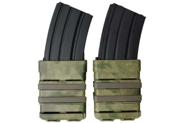 oper8 tactical fast mag 5.56 pouch set - atacs fg front