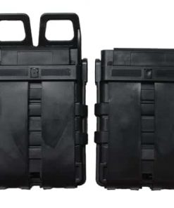 oper8 tactical fast mag 5.56 pouch set - black rear