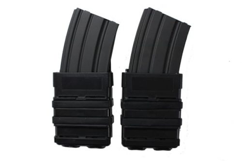 oper8 tactical fast mag 5.56 pouch set - black front