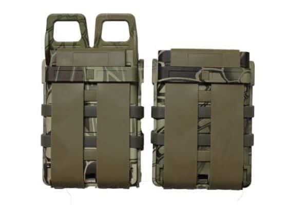 oper8 tactical fast mag 5.56 pouch set - highlander rear