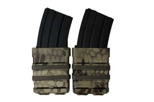 oper8 tactical fast mag 5.56 pouch set - highlander front