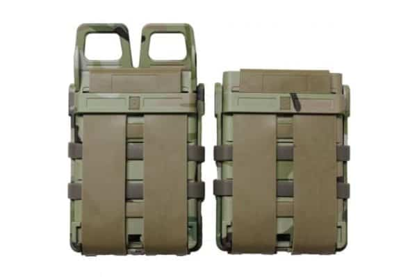 oper8 tactical fast mag 5.56 pouch set - multicam rear