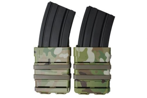 oper8 tactical fast mag 5.56 pouch set - multicam front