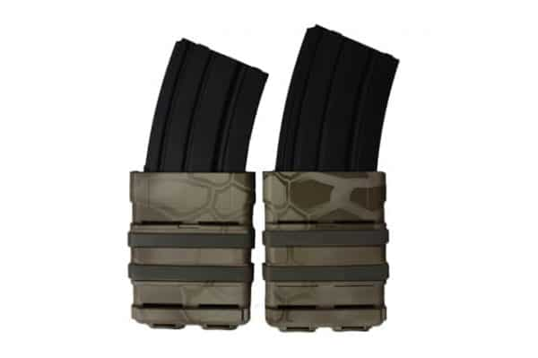 oper8 tactical fast mag 5.56 pouch set - nomad front