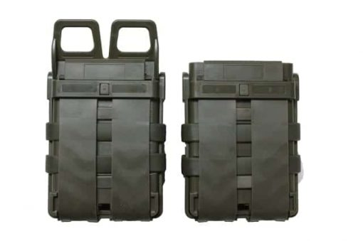 oper8 tactical fast mag 5.56 pouch set - olive back