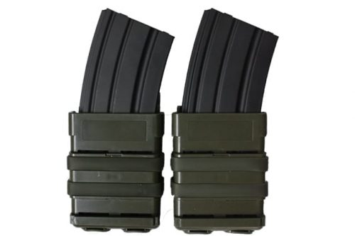 oper8 tactical fast mag 5.56 pouch set - olive front