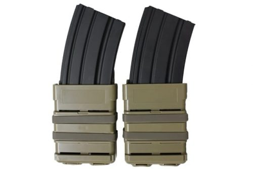 oper8 tactical fast mag 5.56 pouch set - coyote front