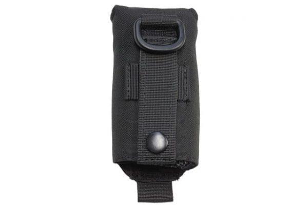 oper8 tactical grenade dump pouch - black back