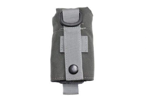 oper8 tactical grenade dump pouch - grey back