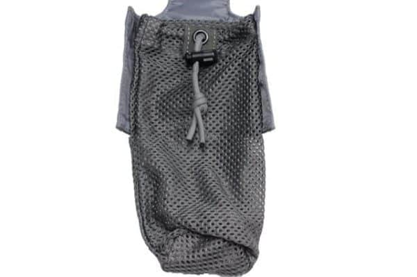 oper8 tactical grenade dump pouch - grey open