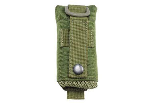 oper8 tactical grenade dump pouch - olive black