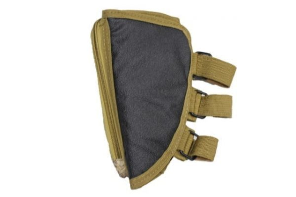 oper8 rifle stock pouch for sniper and shotgun - nomad back