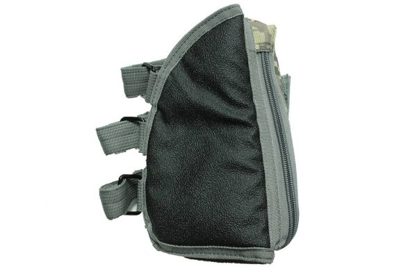 oper8 rifle stock pouch for sniper and shotgun - digital back
