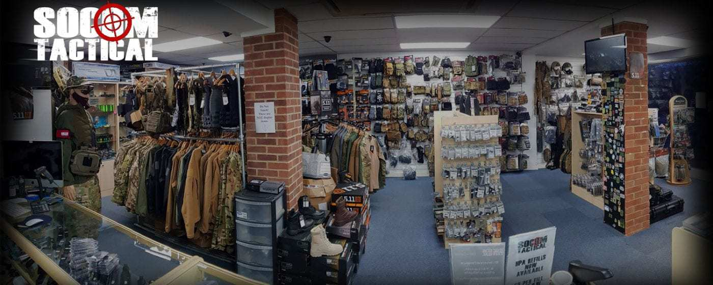UK Airsoft Shop and Retailer selling all things airsoft