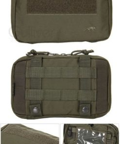 tasmanian tiger admin pouch - olive open