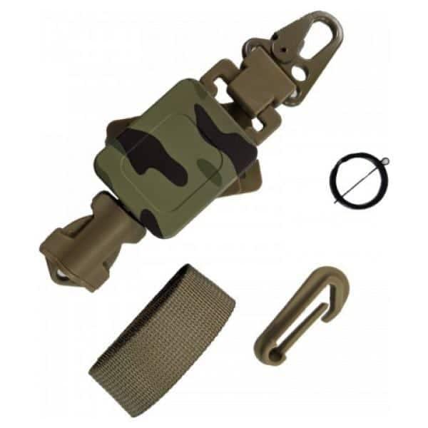 wbd retractable buckle lanyard - mec