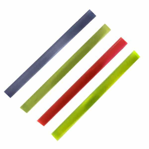 6 shooters 2.5mm fibre optic rod - all