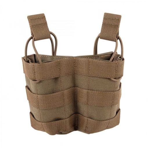 tasmanian tiger double m4 magazine pouch mkii - coyote brown