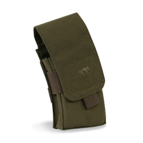 tasmanian tiger double mp5 magazine pouch - olive
