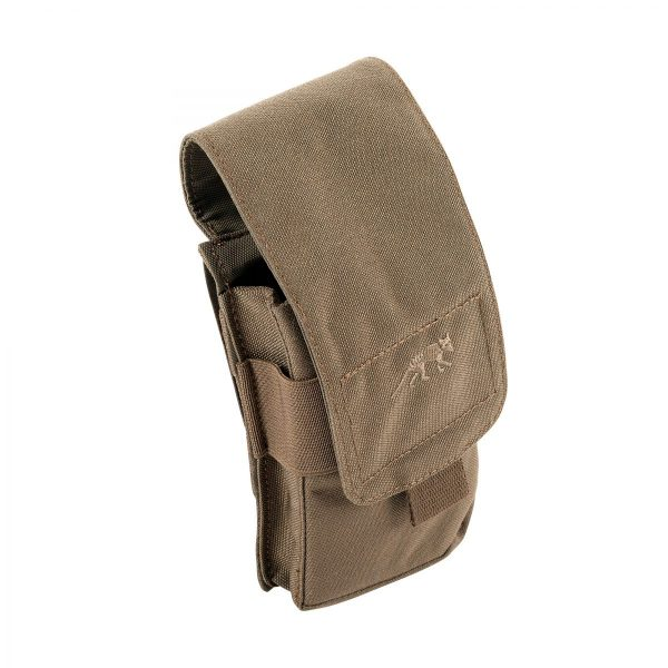 tasmanian tiger double mp5 magazine pouch - coyote brown