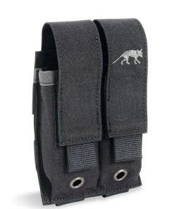 tasmanian tiger double pistol magazine pouch - black