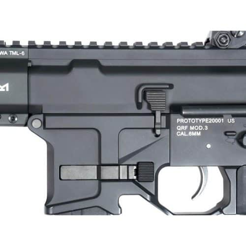 KWA QRF MOD 3 airsoft 9mm SMG close left