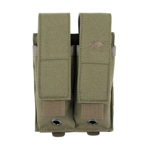 tasmanian tiger double pistol magazine pouch - khaki
