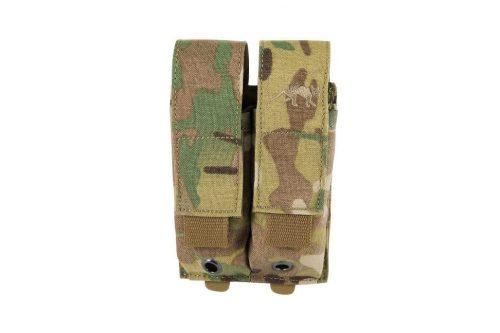 tasmanian tiger double pistol magazine pouch - multicam