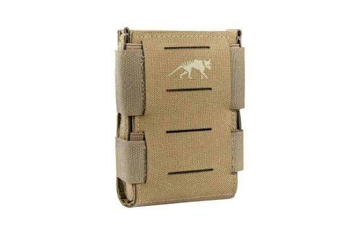 tasmanian tiger low profile multi-calibre magazine pouch - khaki