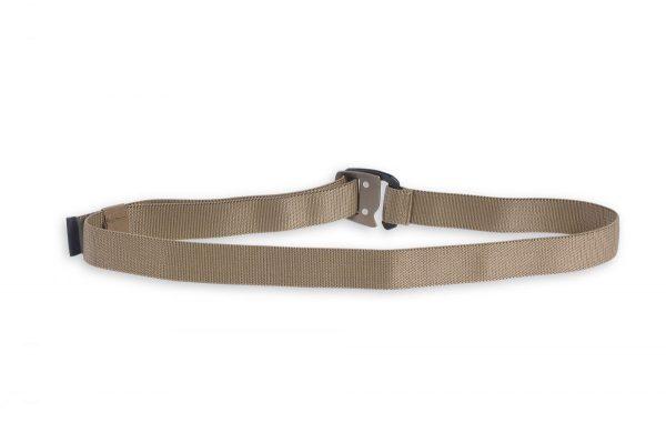 tasmanian tiger 32mm stretch elastic belt - coyote brown back