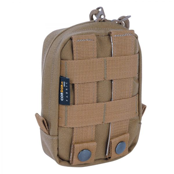 tasmanian tiger vertical tac pouch 1 - coyote brown