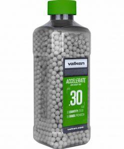 valken accelerate 0.30g airsoft bbs 2500