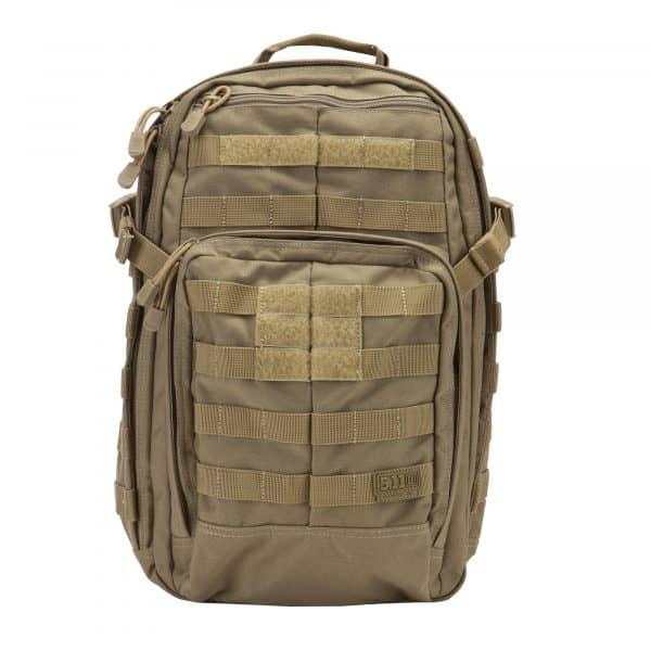 5.11 tactical rush 12 backpack travel bag sandstone
